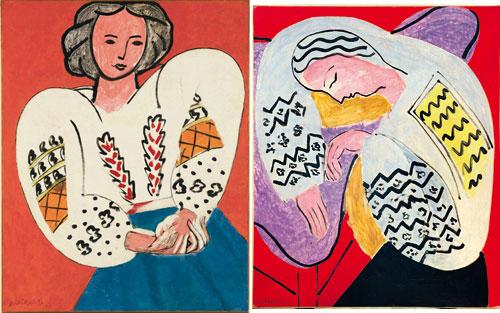 La-Blouse-roumaine-Matisse-paires-et-series